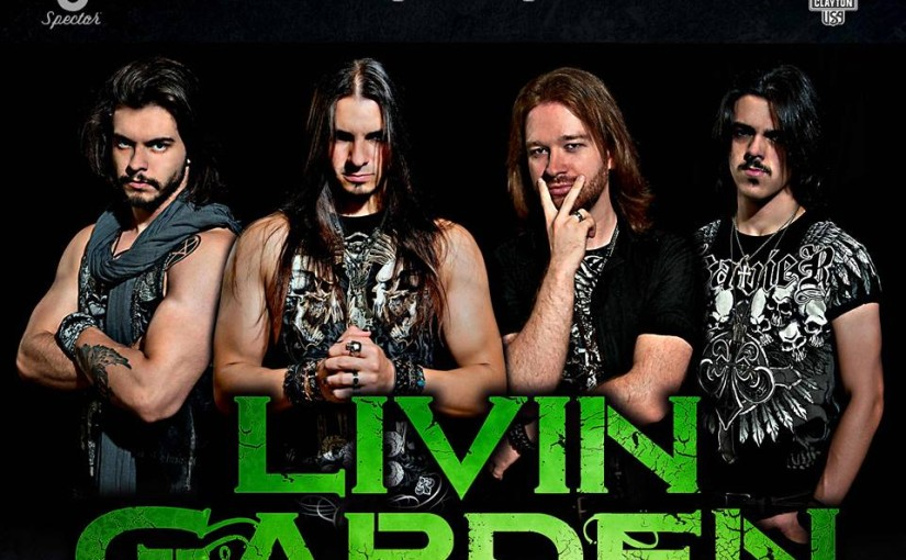 Livin Garden the band … lead singer/bass Gabriel Connor interview!